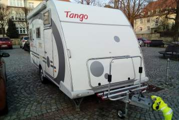 Hire a motorhome in Dresden from private owners| Knaus Tango 100 km/h