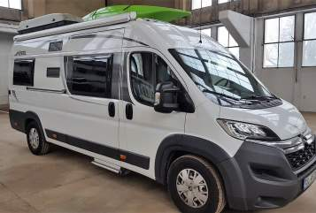 Hire a motorhome in Penzberg from private owners| Pössl Roady