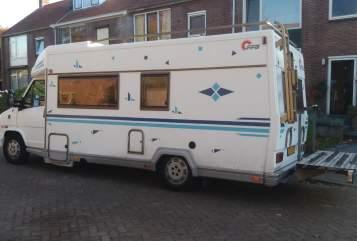Hire a motorhome in Nijmegen from private owners| Fiat Ducato 2,5TD Sterk en Ruim