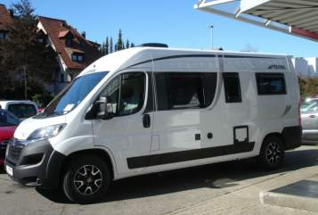 Hire a motorhome in Ehingen from private owners| Pössl TraumCamper