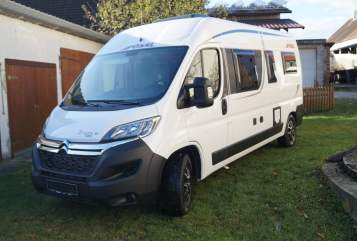 Hire a motorhome in Ehingen from private owners  Pössl TraumCamper