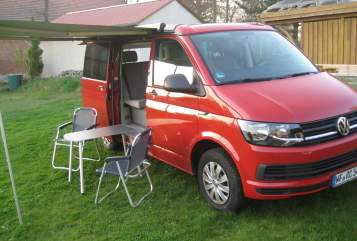 Hire a motorhome in Schöppenstedt from private owners| VW T6  Carl-Hugo
