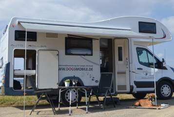 Hire a motorhome in Nagold from private owners| Roller Team Dog's Mobile 275