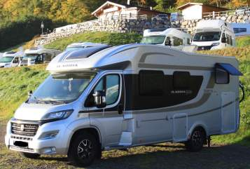 Hire a motorhome in Gödenstorf from private owners| Adria Henriette