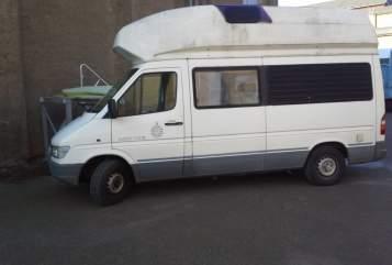 Hire a motorhome in Niederau from private owners  Mercedes Benz Julius