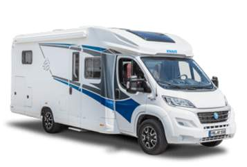 Hire a motorhome in Dielheim from private owners| Knaus Liv