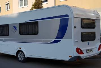 Hire a motorhome in Rüdesheim from private owners| Knaus  Beethoven