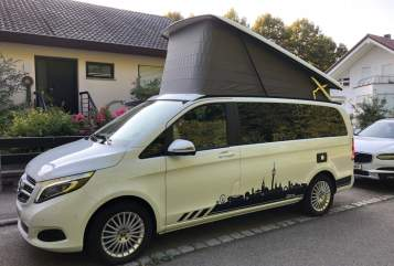 Hire a motorhome in Stuttgart from private owners| Mercedes Weißer-Blitz