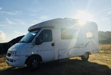 Hire a motorhome in Ludwigsburg from private owners| Dethleffs Oskar