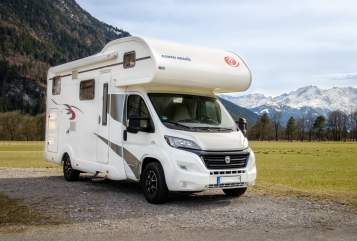 Hire a motorhome in Oberau from private owners| Eura Mobil Womo