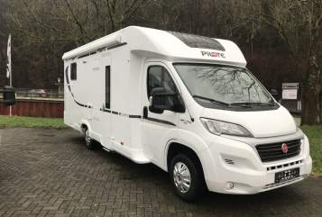 Hire a motorhome in Helmenzen from private owners|  Pilote Fiat Ducato Top Wohnmobil