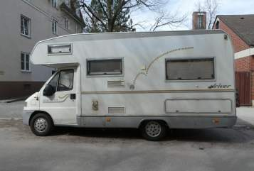 Hire a motorhome in München from private owners  Fiat Weltenbummler