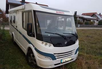 Hire a motorhome in Kelheim from private owners| Dethleffs Eva-Mobil