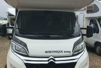 Hire a motorhome in Stuttgart from private owners| Citroen Familiencamper Bela Easy Martinique