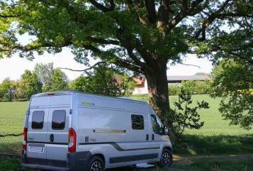 Hire a motorhome in Hebertsfelden from private owners| Hymer Car Free