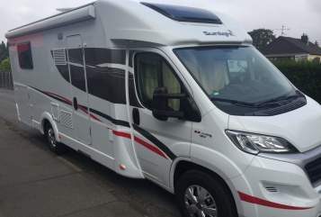 Hire a motorhome in Würselen from private owners| Sunlight Sunny