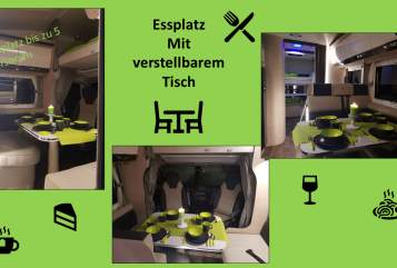 Hire a motorhome in Ohmden from private owners| Forster Euphemia-die Glück Verheißende