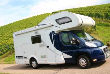 Hire a motorhome in Mannheim from private owners| Dethleffs  Big Blue