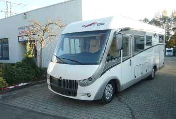 Hire a motorhome in Gütersloh from private owners| Carthago  Carthago chic c-line I 4,8 heavy Modell 2018