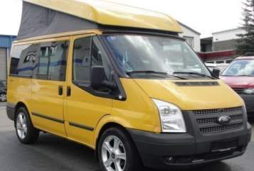 Hire a motorhome in Steinheim an der Murr from private owners  Ford Transit Westfalia Golden Nugget