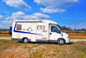 Hire a motorhome in Bernau bei Berlin from private owners| Fiat Ducato Maxi 2,8JTD Globi 1