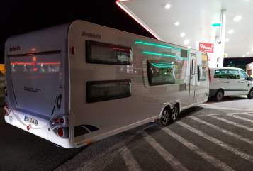Hire a motorhome in Chemnitz from private owners  Dethleffs Dethleffs Beduin