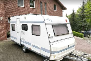 Hire a motorhome in Dresden from private owners| Bürstner  Rainbow
