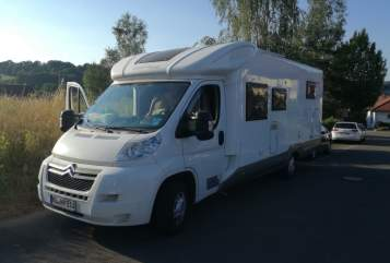 Hire a motorhome in Landstuhl from private owners| Citroen Giotti