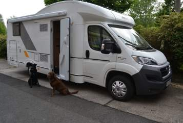 Hire a motorhome in Jena from private owners| Fiat sun Living  Yoda