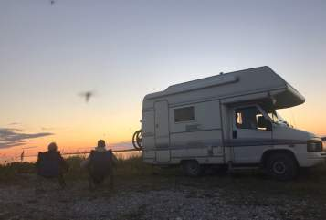 """Hire a motorhome in Harsewinkel from private owners  Fiat """"JOLLY JUMPER"""""""