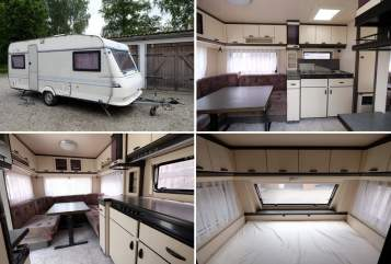 Hire a motorhome in Weißenhorn from private owners| Hobby Hobby 495 hell