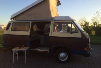 Hire a motorhome in Erlensee from private owners  VW T3 Wooly