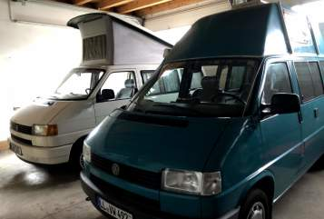 Hire a motorhome in Landsberg am Lech from private owners  Volkswagen Green Machine
