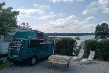 Hire a motorhome in Landsberg am Lech from private owners| Volkswagen Green Machine