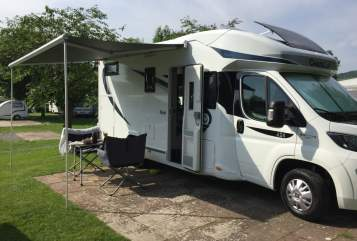 Hire a motorhome in Gudensberg from private owners|  Chausson  Unser Reisewagen2