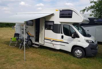 Hire a motorhome in Bernau bei Berlin from private owners| Fiat Globi 2