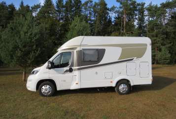 Hire a motorhome in Neuhaus an der Pegnitz from private owners| Fiat Pegnitztal 2