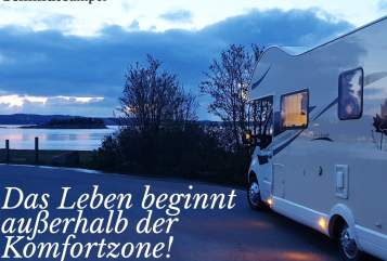 Hire a motorhome in Ludwigsburg from private owners| Ahorn Luxus Camper Schmiddy mit Automatik - 170PS