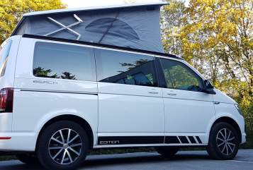 Hire a motorhome in Vaterstetten from private owners| VW T6 California Beach Kids-Bulli NEU!