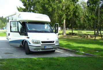 Hire a motorhome in Forst from private owners  Ford Max