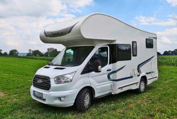 Hire a motorhome in Utting am Ammersee from private owners| Ford Flotte Ursel