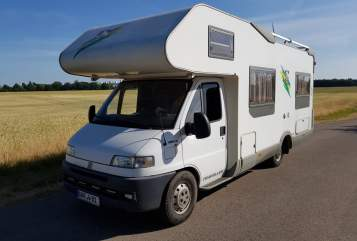 Hire a motorhome in Ahrensfelde from private owners| Fiat Ducato Günni