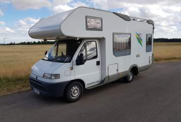 Hire a motorhome in Ahrensfelde from private owners| Fiat Ducato  knausi