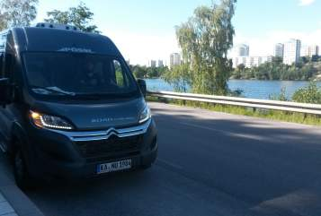 Hire a motorhome in Freiburg im Breisgau from private owners| Pössl Grashüpfer