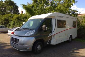 Hire a motorhome in Baiersbronn from private owners| Dethleffs Hausboot