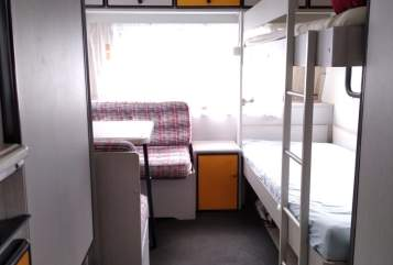 Hire a motorhome in Biberach from private owners  Knaus Family Camper