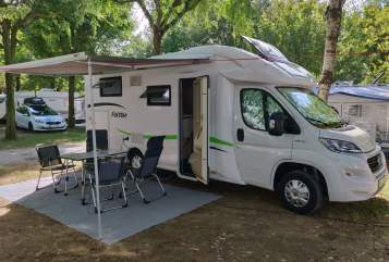 Hire a motorhome in Altenstadt from private owners| Forster  EMBA