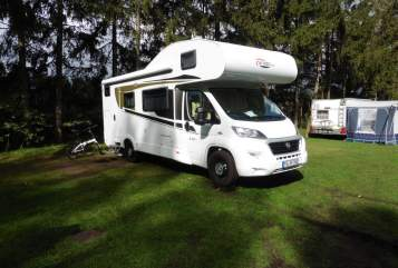 Hire a motorhome in Hörstel from private owners| Fiat Bettmobil