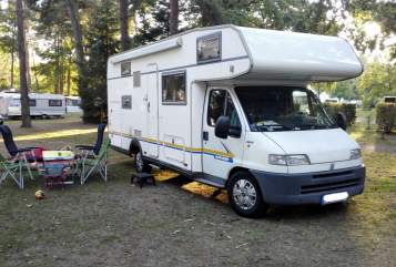 Hire a motorhome in Güstrow from private owners| Fiat Ducato Käthe