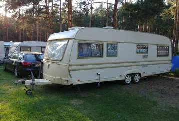 Hire a motorhome in Burgstädt from private owners  Tabbert Luise
